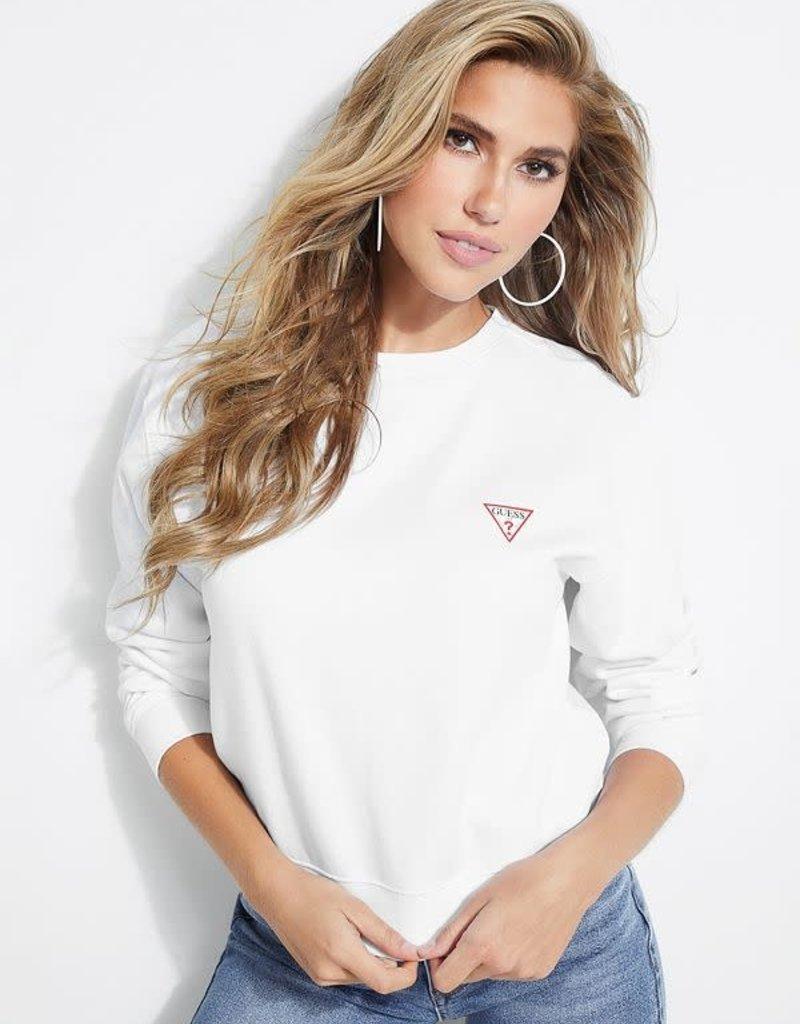 Guess Guess Womens Graphic Logo Sweatshirt