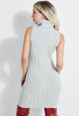 Guess Guess Womens Olina Ribbed Sweater Dress