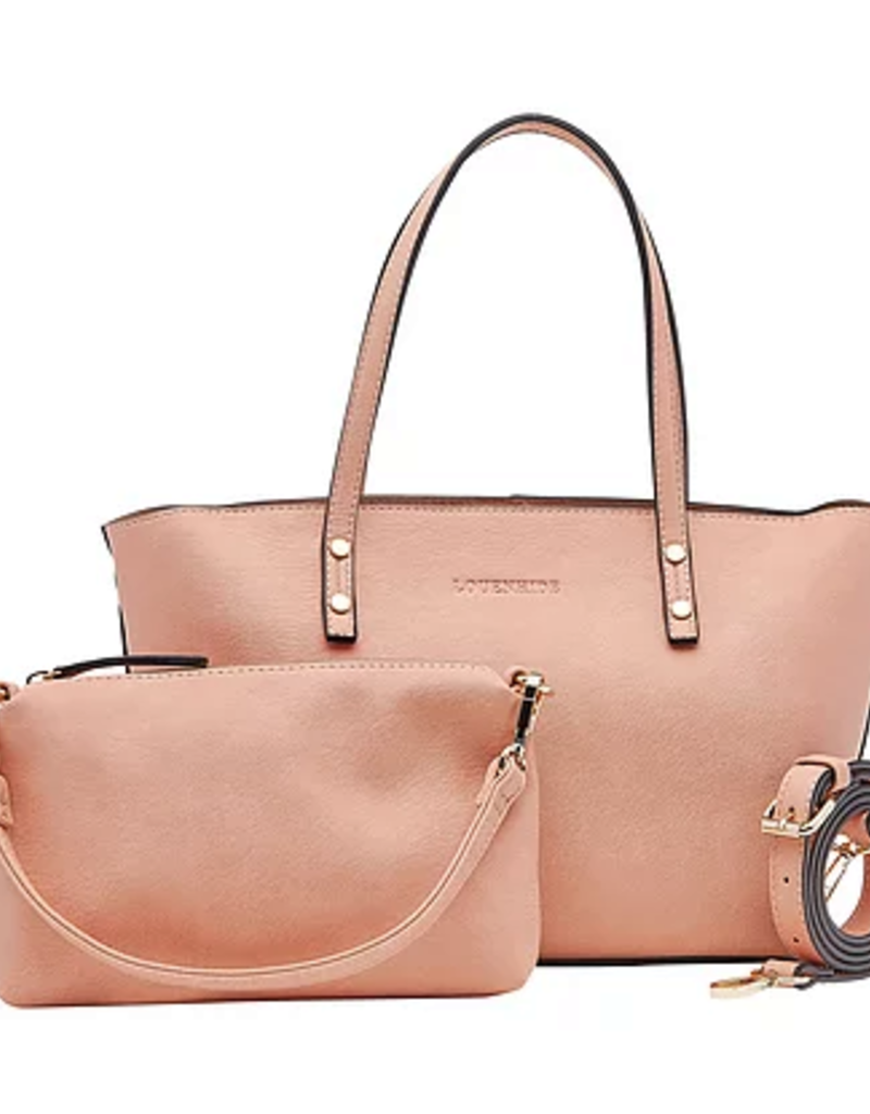 Louenhide Louenhide Millie Tote/Purse 2in 1 Blush