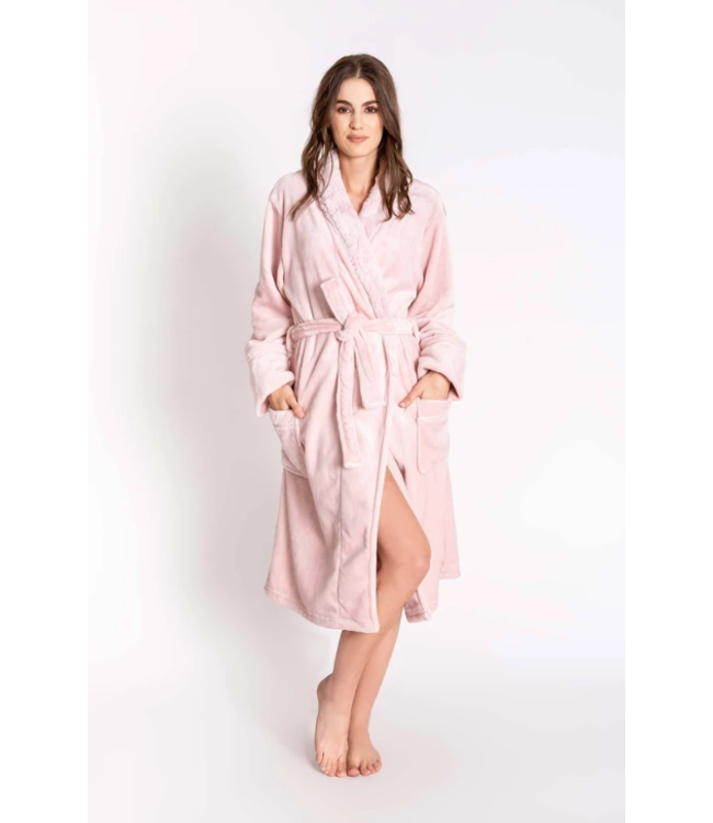 P.J. Salvage Silky Luxe Plush Robe