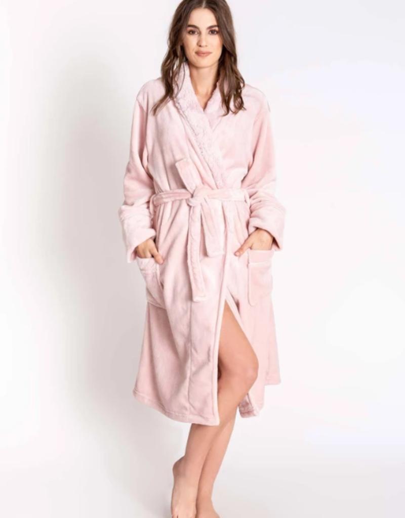 P.J. Salvage PJ Salvage Silky Luxe Plush Robe