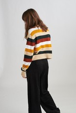 24Colours 24Colours Womens Striped Sweater