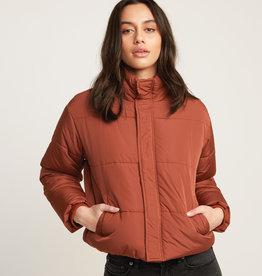 RUCA RVCA Eezeh Cropped Puffer Jacket
