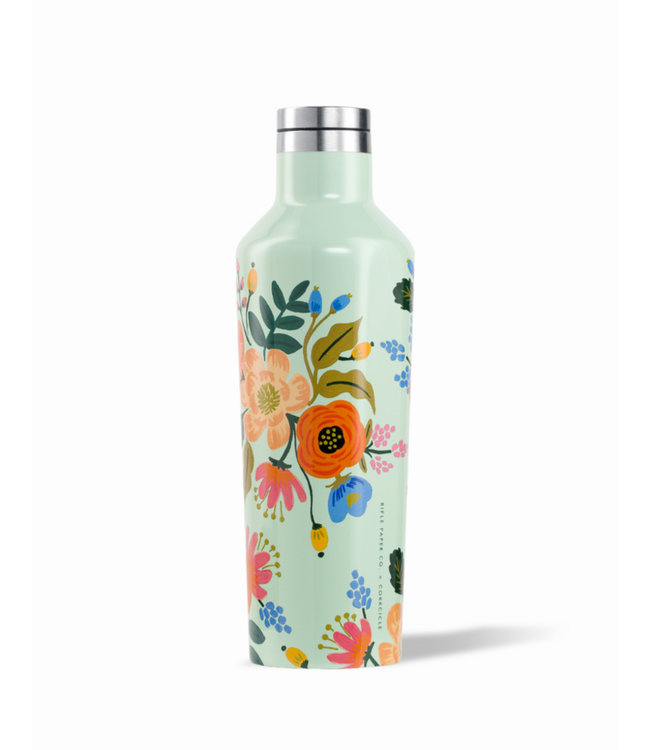Corkcicle Corkcicle 16oz Canteen Rifle Paper Gloss Mint