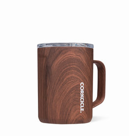 Corkcicle Corkcicle 16oz Coffee Mug Walnut Wood