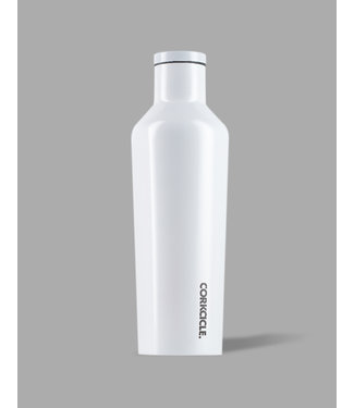 Corkcicle Corkcicle 16oz Canteen Dipped Modernist White