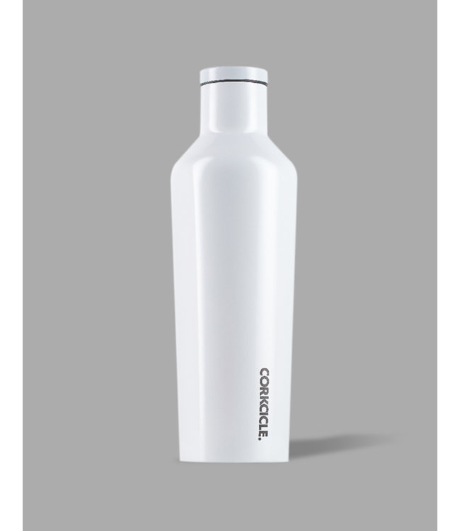 Corkcicle 16oz Canteen Dipped Modernist White