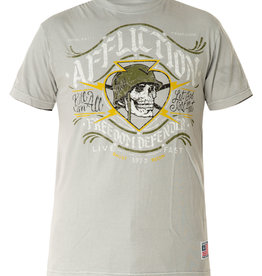 AFFLICTION Affliction Mens FD Battalion Reversible Tee