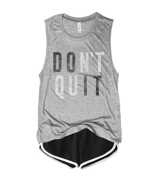 Everfitte Everfitte Dont Quit Muscle Tank