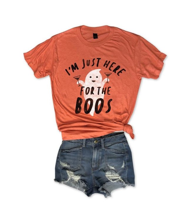 Everfitte Everfitte I'm Just Here For The Boos Tee