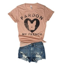 Everfitte Everfitte Pardon my French Tee