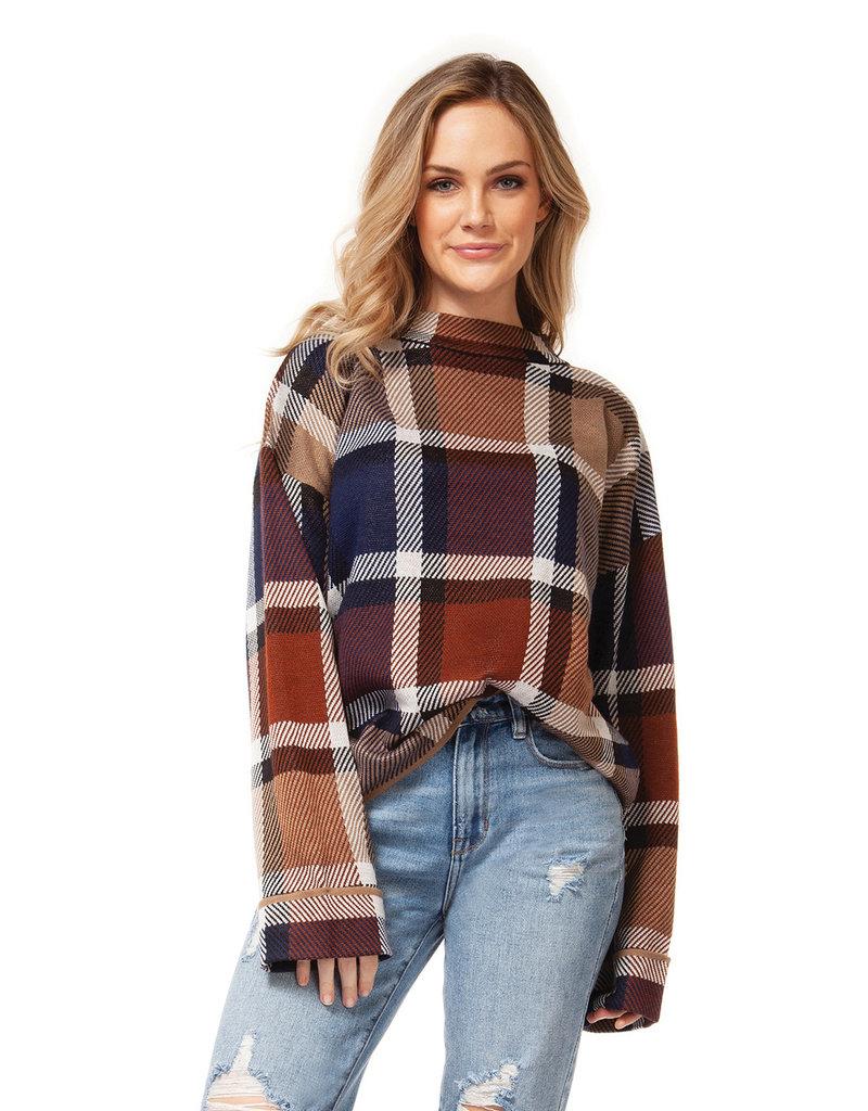 DEX Dex Plaid Sweater
