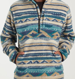 Billabong Billabong Mens Boundary Mock Half Zip Fleece