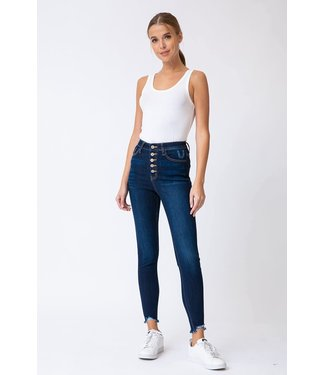Kancan Ashley-Euclid Super High Rise Skinny