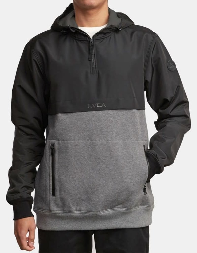 RUCA RVCA Mens Fleece Camden Jacket