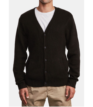 RVCA Mens Jerry Knit Cardigan