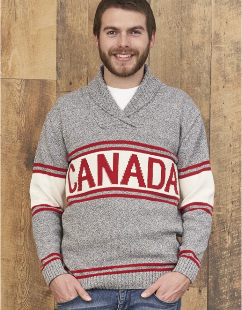 Cotton Country Mens Canada Sweater