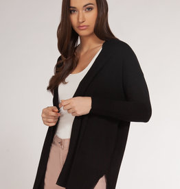DEX Dex Basic Open Cardigan