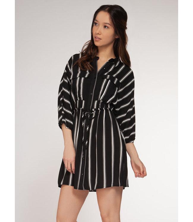 DEX Dex 3/4 Sleeve Shirt Dress