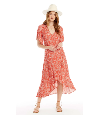 Saltwater Luxe Orchid Midi Dress