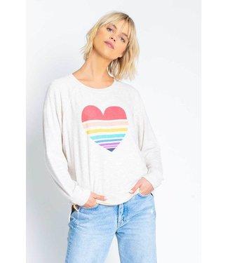 P.J. Salvage Iconic Lounge Heart Sweatshirt