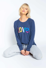 P.J. Salvage PJ Salvage Iconic Lounge Love Sweatshirt