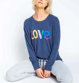 P.J. Salvage PJ Salvage Iconic Lounge Love Sweatshirt