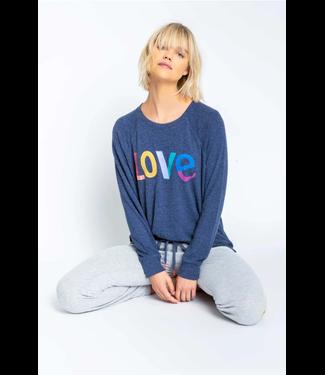 P.J. Salvage Iconic Lounge Love Sweatshirt