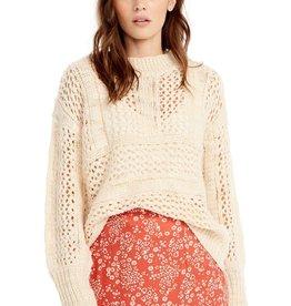 Saltwater Luxe Saltwater Luxe Salty Open Weave Sweater