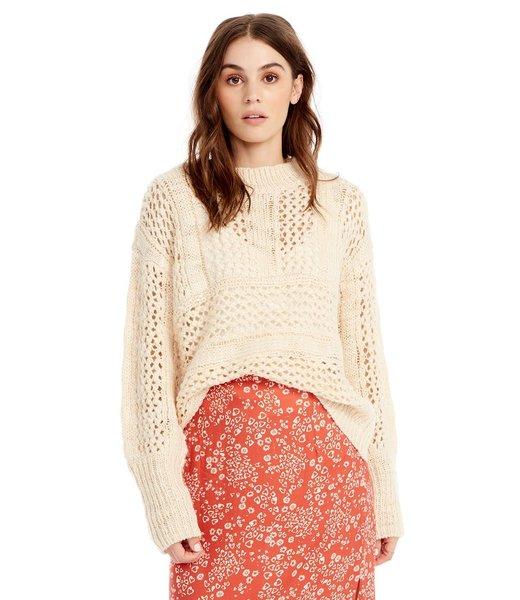 Saltwater Luxe Salty Open Weave Sweater