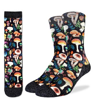 Good Luck Socks Mushrooms