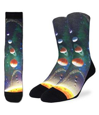 Good Luck Socks Solar System