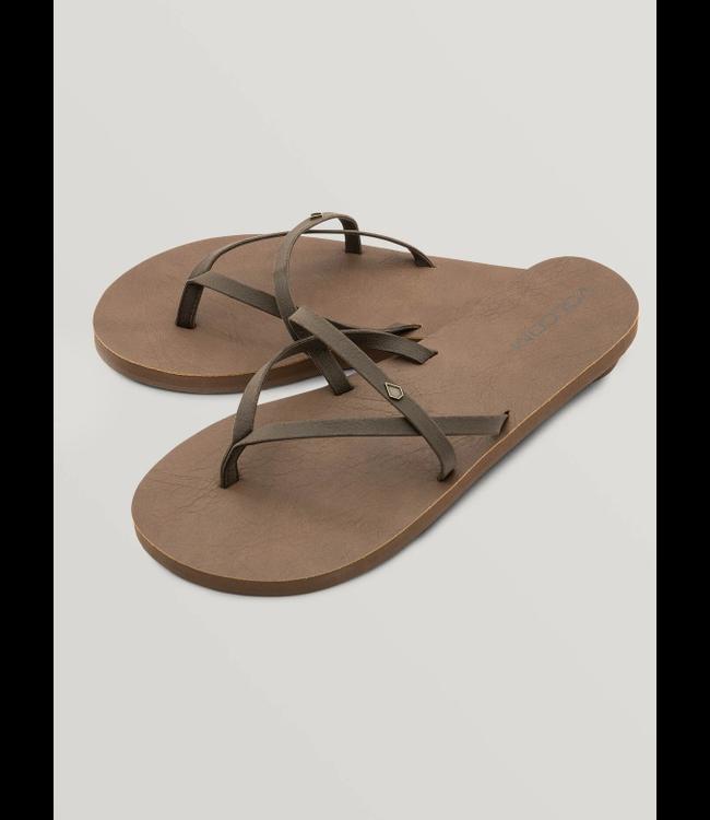 Volcom Womens All Night Long Sandal