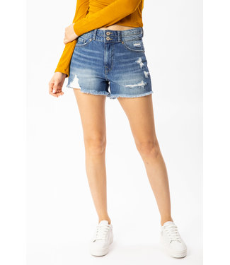 Kancan Distressed Denim Short