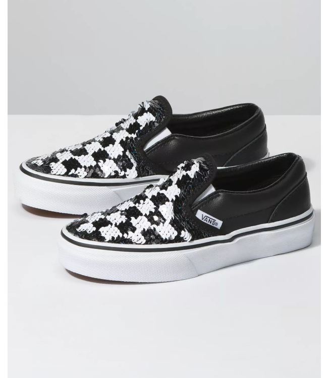 Vans Youth Classic Slip-On Sequins
