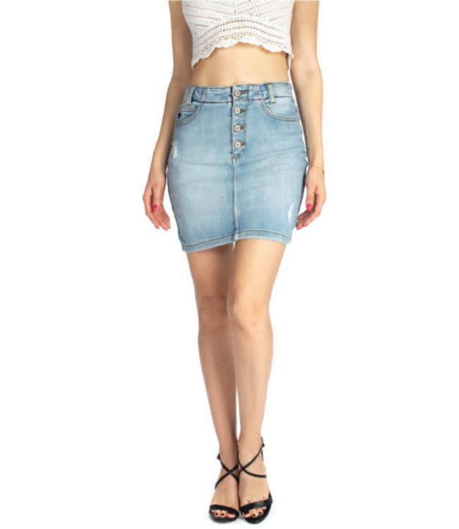 "Kancan 15"" High Waisted Skirt"