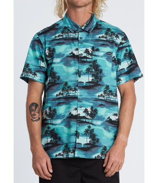 Billabong Mens Sundays Floral SS Shirt