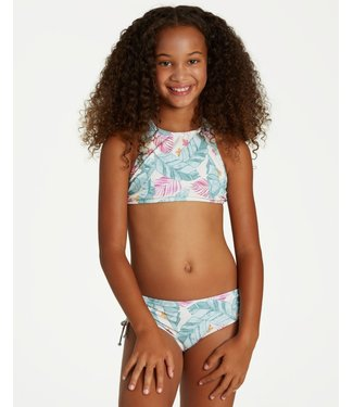 Billabong Kids Mas Playas Hi Neck Bikini