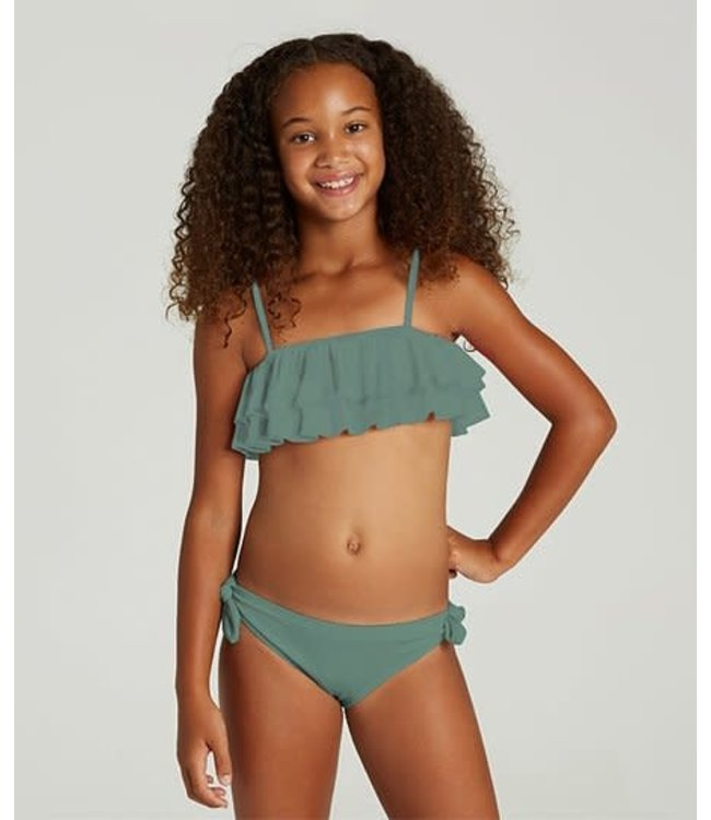 Billabong Youth Girls Sol Searcher Ruffle Bikini
