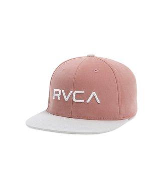 RUCA RVCA Mens Twill Snapback Hat