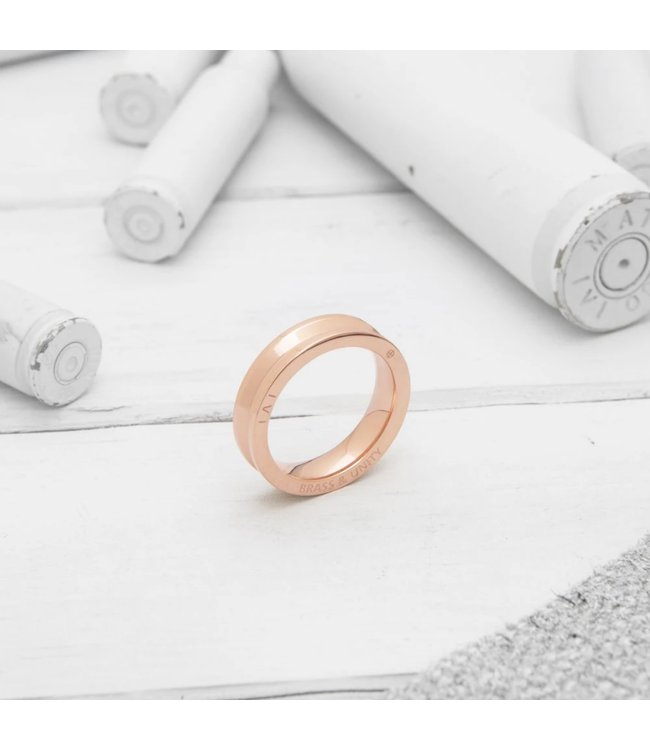 Brass and Unity Ring