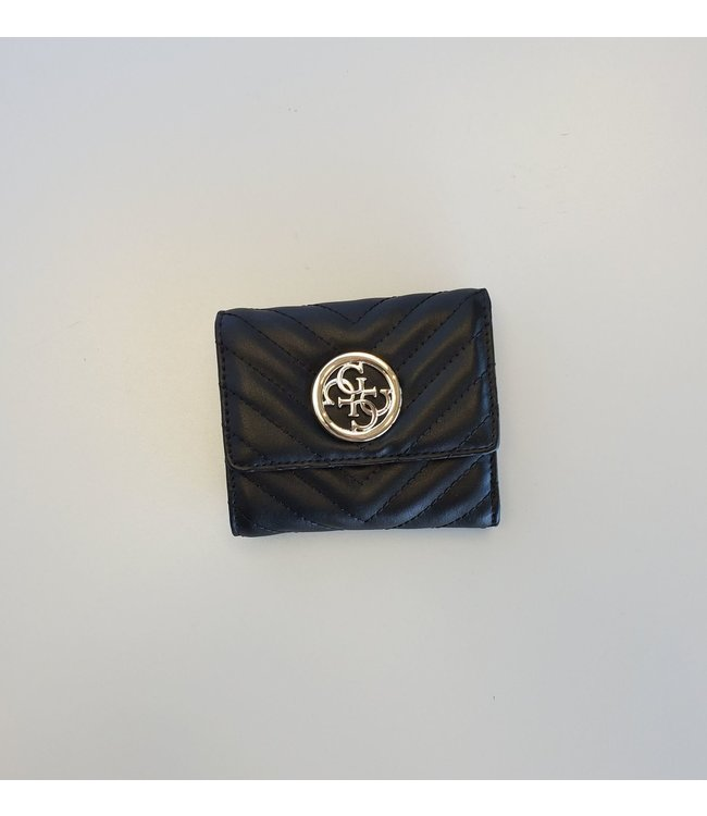 Guess Wallet Blakely Small Trifold Black