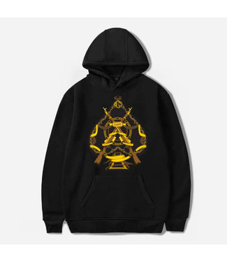 Crooks and Castles Crooks & Castle Mens Ace Musket Hoody