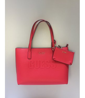 Guess Guess Purse Wilder Tote Red