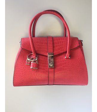 Guess Guess Purse Asher Flap Satchel Red