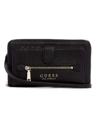 Guess Guess Lias Travel Wallet Black