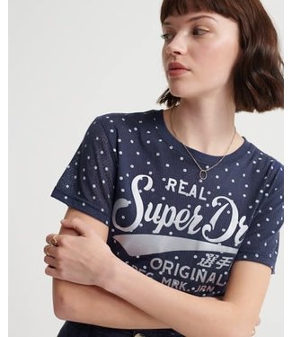 SuperDry Super Dry Womens Ro Dot Entry Tee