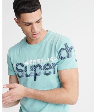 SuperDry Super Dry Mens Core Split Tee