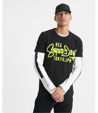 SuperDry Super Dry Mens Neon Classic Tee