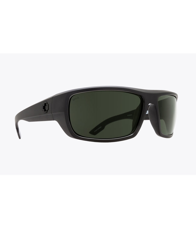 Spy Bounty Black ANSI RX Happy Grey Green Polarized